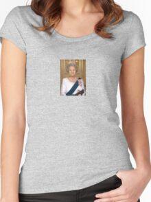 Queen Bill Women's Fitted Scoop T-Shirt