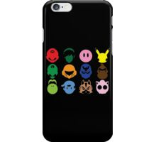 Super Smash Bros T-Shirt - The Original Twelve  iPhone Case/Skin