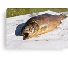 grilled trout Metal Print
