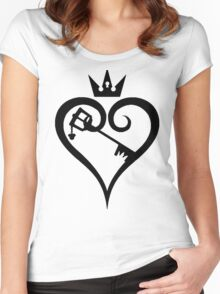 Key to the Kingdom of your Heart Women's Fitted Scoop T-Shirt