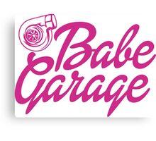 Turbo Barbie Canvas Print