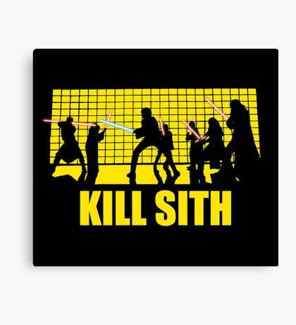 Kill Sith Canvas Print