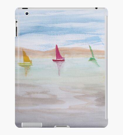 Three Sail Boats. iPad Case/Skin