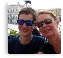 Chris and Siân - Lisbon Canvas Print