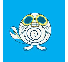 Poliwag Pokemuerto | Pokemon & Day of The Dead Mashup Photographic Print