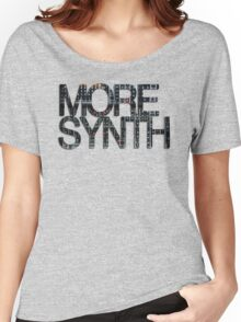 more synth Women's Relaxed Fit T-Shirt