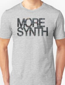 more synth Unisex T-Shirt