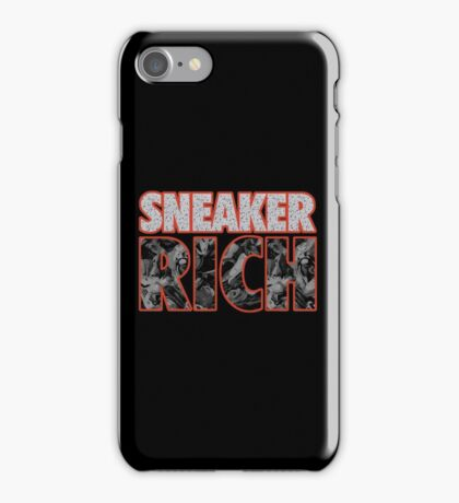 Sneaker Rich iPhone Case/Skin