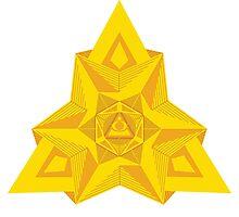 Illuminati Pattern Photographic Print
