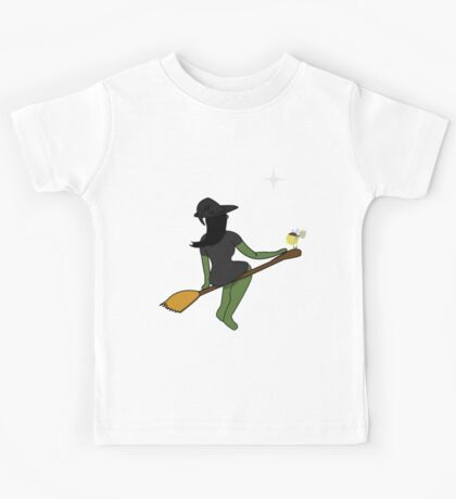 The Witch and The Frog (Crossover) Kids Tee