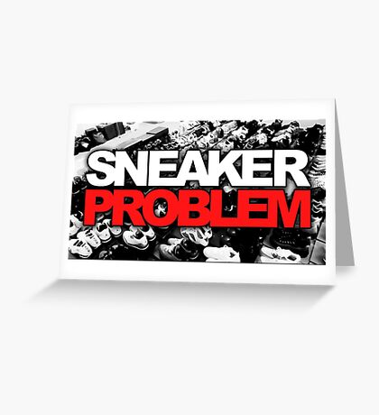 Sneaker Problem Greeting Card