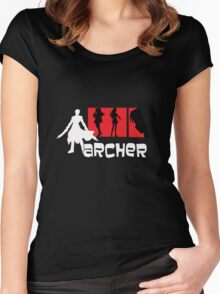 Archer x aRCHER Women's Fitted Scoop T-Shirt