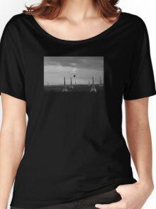 Eiffel Attack! Women's Relaxed Fit T-Shirt