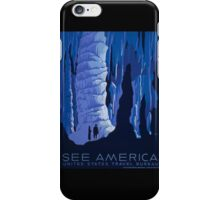 'See America' Vintage Travel Poster (Reproduction) iPhone Case/Skin