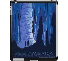 'See America' Vintage Travel Poster (Reproduction) iPad Case/Skin