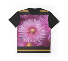 Pink Pigface Flowers Graphic T-Shirt