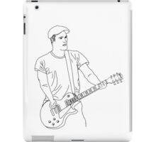 Brian Fallon Line Art iPad Case/Skin