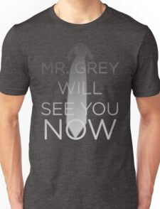 Mr. Grey Will See You Now (Fifty Shades of Grey) Unisex T-Shirt