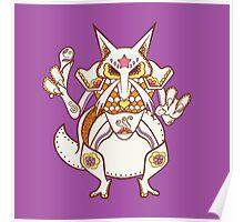 Kadabra Pokemuerto | Pokemon & Day of The Dead Mashup Poster
