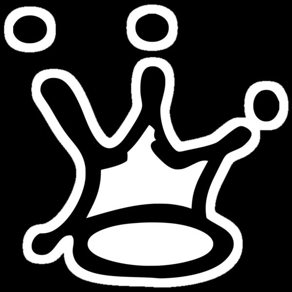 Graffiti Crown | Black by TimeMeddler