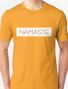 Namaste (version 2) Unisex T-Shirt