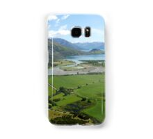Helicopter High ( 7 ) Wanaka just after take-off. Samsung Galaxy Case/Skin