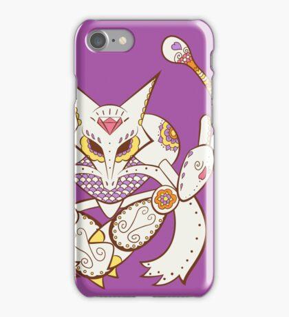 Alakazam Pokemuerto | Pokemon & Day of The Dead Mashup iPhone Case/Skin