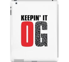 Keepin' It OG iPad Case/Skin