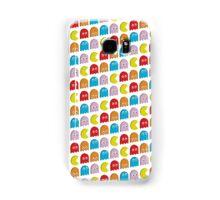 Pacman (White) Samsung Galaxy Case/Skin