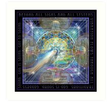 Beyond All Signs - Gong Art Print