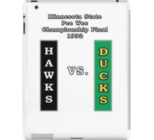 Minnesota Pee Wee Final 1992 iPad Case/Skin