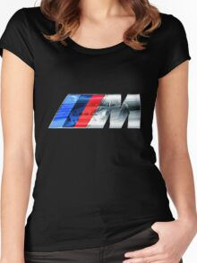 BMW E46 M3 GT ///M Overlay Women's Fitted Scoop T-Shirt