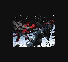 krampus vs hell boy Unisex T-Shirt