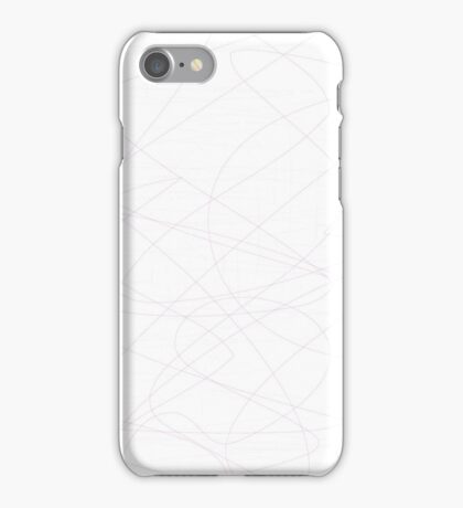Thin Lines of String iPhone Case/Skin