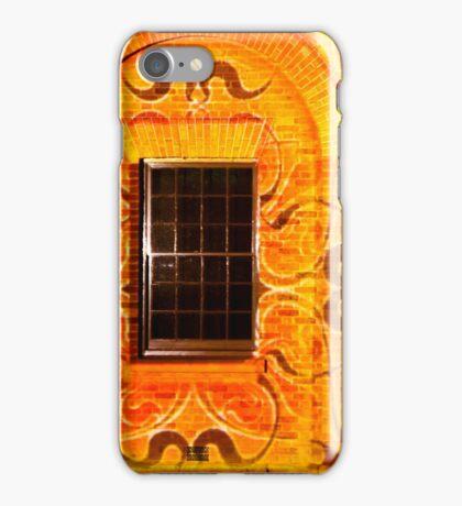 Windows and doors - orange iPhone Case/Skin