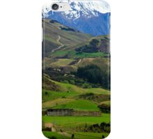 Southern Alps iPhone Case/Skin