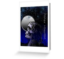 Lucid Night Greeting Card