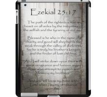 Ezekial 25:17 iPad Case/Skin