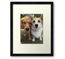 Sir Charles & King Louie Framed Print