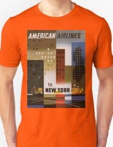 Vintage poster - New York City Unisex T-Shirt