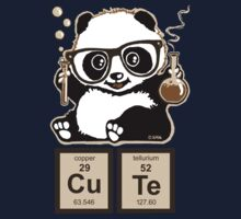 Chemistry panda discovered cute Kids Tee