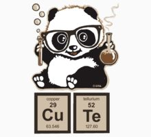 Chemistry panda discovered cute by NewSignCreation