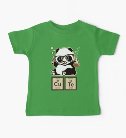 Chemistry panda discovered cute Baby Tee