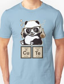 Chemistry panda discovered cute Unisex T-Shirt