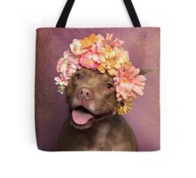 Flower Power, Topaz Tote Bag