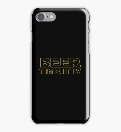Beer Time It Is iPhone Case/Skin