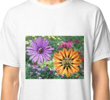 Flowers Drinking Water Classic T-Shirt