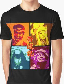 SAIYUKI (MONKEY MAGIC) - posterized Graphic T-Shirt
