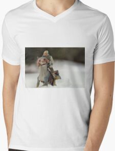 Is Hoth in Iowa?  Mens V-Neck T-Shirt