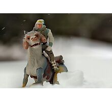 Is Hoth in Iowa?  Photographic Print